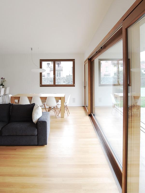 Casa s1 zerbato architetti - Isolare parete interna a nord ...